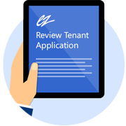 Tenant Screening - Step 3 | Review Tenant's Application